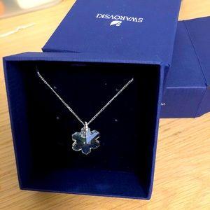 Authentic Swarovski snowflake necklace pendant NIB